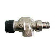 Кран для радиатора Oventrop 1/2 осевой для терморегулятора