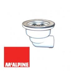 Выпуск McALPINE MRSKW7E угловой со съемной фильтрующей решеткой-пробкой O113x1 1/2''
