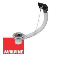 Выпуск McALPINE OR2-70 с переливом и сливной решеткой O70x1 1/2''
