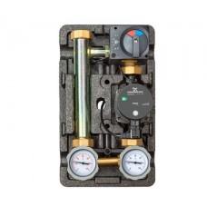 """Насосная группа Meibes MK 1"""" термостат обратной линии, с электрическим приводом смесителя, без насоса"""