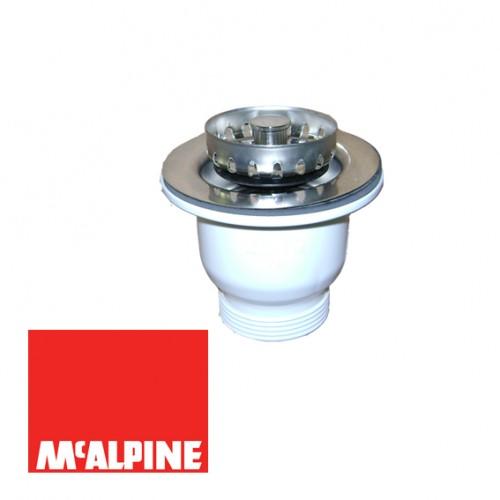 Выпуск McALPINE MRSKW5 со съемной фильтрующей решеткой-пробкой O85x1 1/2''